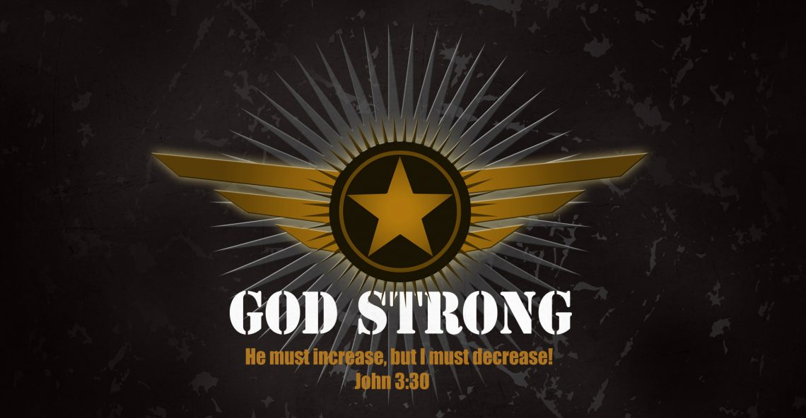 """This New Year's, Resolve to Become """"God Strong"""" for Life! Will You Join Me?"""