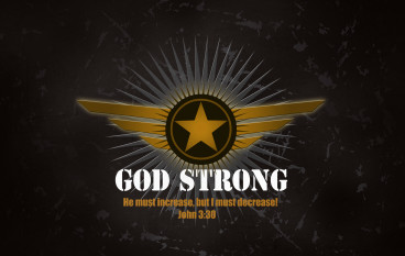 "This New Year's, Resolve to Become ""God Strong"" for Life! Will You Join Me?"