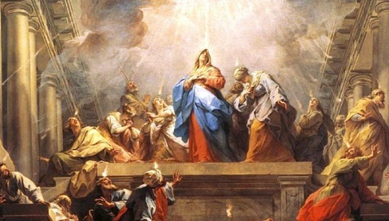 Pentecost Novena – Day Eight