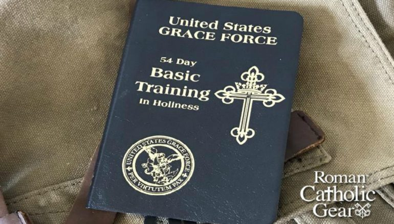 Book for Novena for Our Nation – 54 Day Basic Training in Holiness Book