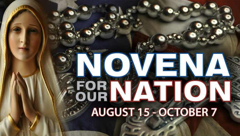 Novena for Our Nation & Our Church