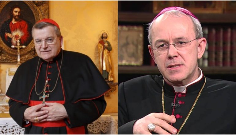 BREAKING! Cardinal Burke, Bishop Schneider Announce Crusade of Prayer and Fasting