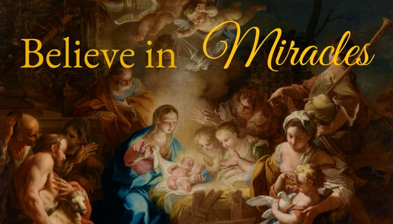 Pray for a Christmas Miracle! 54 Day Novena for the Holy Father's Apostolic Exhortation