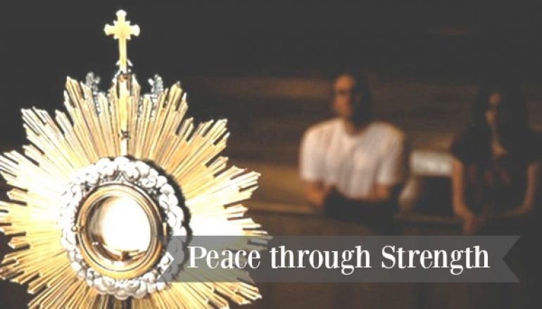 Day 18, 54 Day Christmas Miracle Novena – Peace
