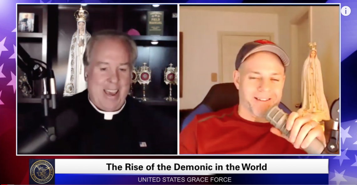 Grace Force Podcast Episode 16: The Rise of the Demonic in the World!