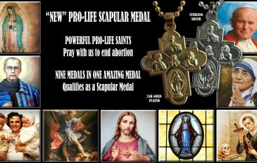 "The Very Powerful ""New"" Pro-Life Scapular Medal"