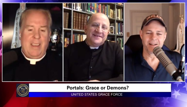 Grace Force Podcast Episode 22: You MUST Know This To Defeat Demons – Interview with Exorcist Father Chad Ripperger