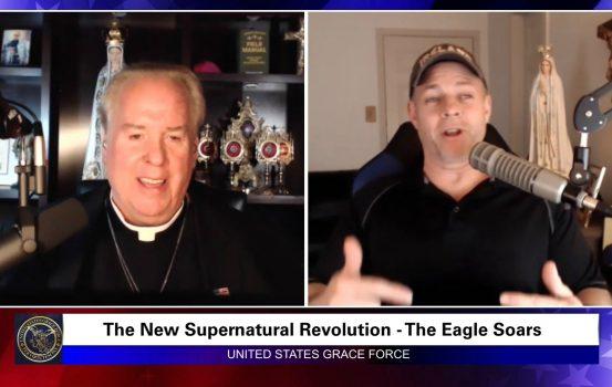 Grace Force Podcast Episode 23: Join the Supernatural Revolution! Soar Like an Eagle!