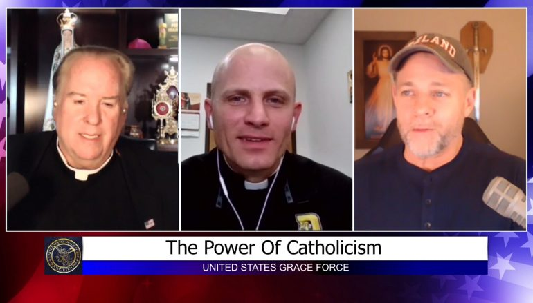 Grace Force Podcast Episode 28: Interview With Father Hollowell