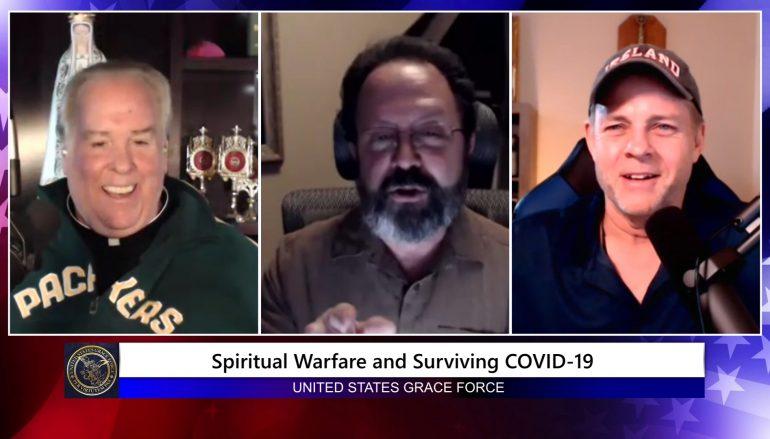 Grace Force Podcast Episode 36: Dan Burke's Revelation Thru Surviving Covid-19