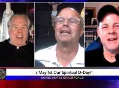 Grace Force Podcast Episode 37: Terry Barber – Is May 1st Our Spiritual D-Day?