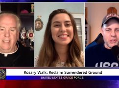 "Grace Force Podcast Episode 41: Catalina Ramos – Launching New Nationwide ""Rosary Walks"""