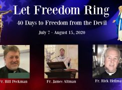 Day 40 – Let Freedom Ring: Freedom from Sloth