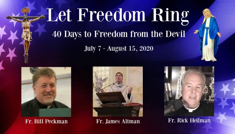 Day 36 – Let Freedom Ring: Freedom from Avarice