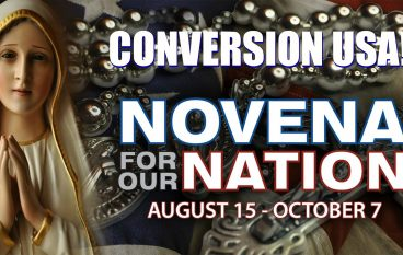 Novena for Our Nation: August 15 – October 7, Conversion USA!