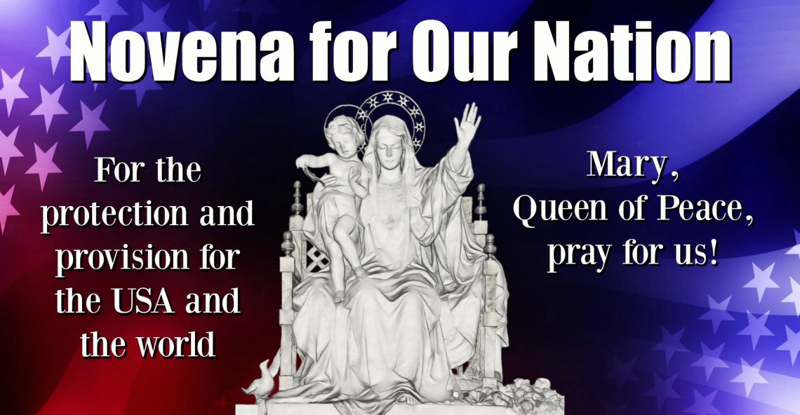 Day 43, Novena for Our Nation – O.I.L. ~ Obedience In Love