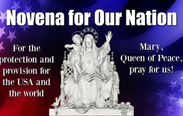Day 41, Novena for Our Nation – God Strong