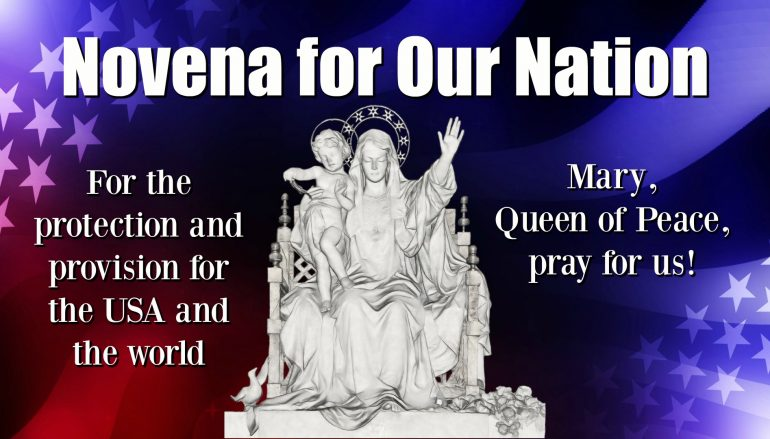 Day 20, Novena for Our Nation – Kindness