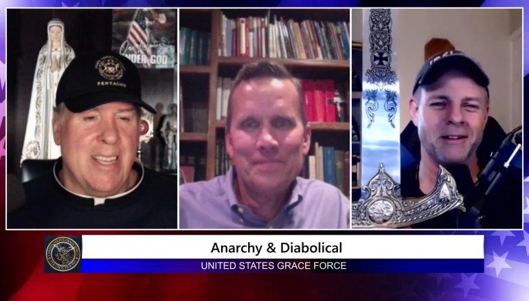 Grace Force Podcast Episode 54: Dr. Dan Schneider – Anarchy & The Diabolical