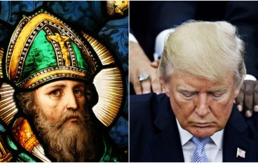 Saint Patrick's Lorica for Protection and  for President Trump