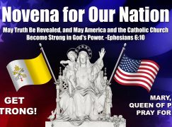 Day 28, Novena for Our Nation – Draw Your Strength From the Lord