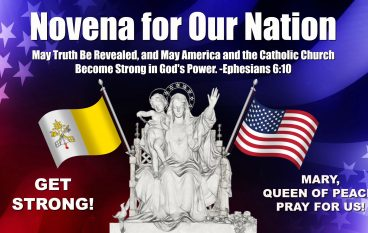 Day 54, Novena for Our Nation – No Cross, No Crown!
