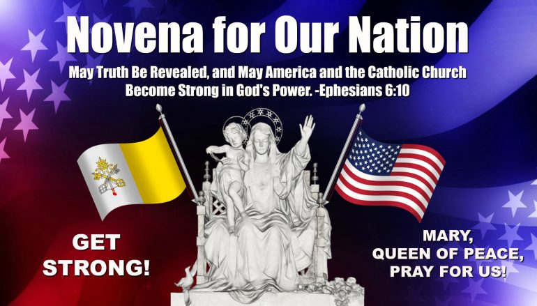 Day 24, Novena for Our Nation – Faithfulness