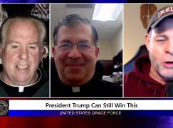 Grace Force Podcast – Fr. Frank Pavone: Can President Trump Still Win This Election?