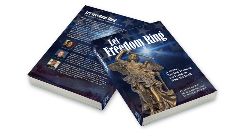 """ANNOUNCEMENT: 3 Priests' Book, """"Let Freedom Ring,"""" is LAUNCHING!!"""