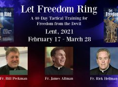 Let Freedom Ring: 40 Days Tactical Training for Freedom from the Devil