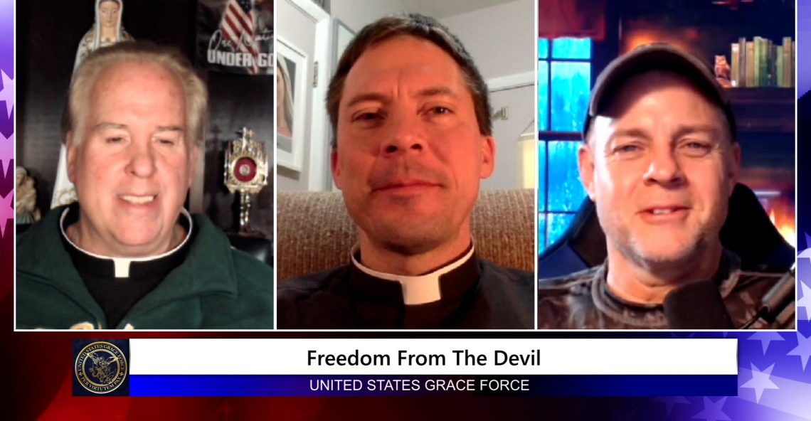 Grace Force Podcast Episode 75: Fr. Mark Goring: – Freedom from the Devil