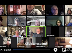 Accountability Weekly Zoom Meeting for Let Freedom Ring Soldiers