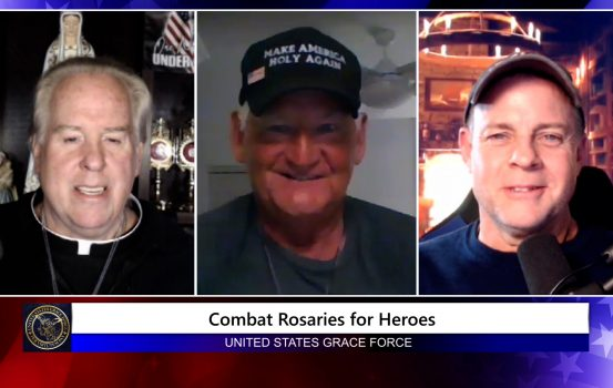 Grace Force Podcast Episode 79: New Initiative to Provide Free Combat Rosaries for Heroes!