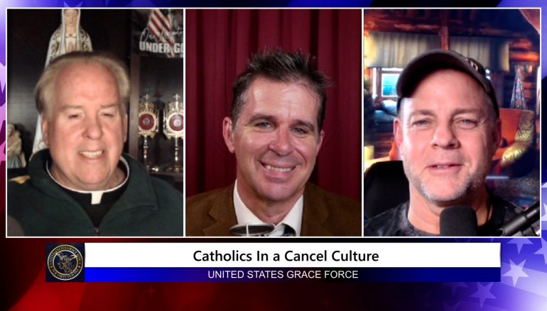 Grace Force Podcast Episode 87: Patrick Coffin – Catholics in Cancel Culture