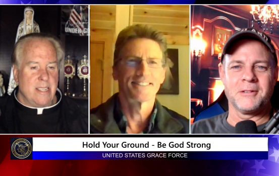 Grace Force Podcast Episode 88: Hold Your Ground – Be God Strong!
