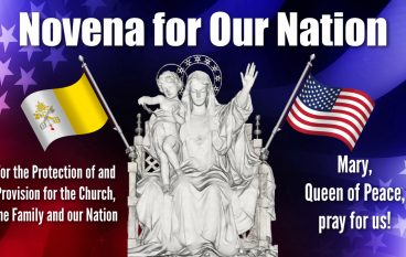 Day 34, Novena for Our Nation – This Day We Fight!