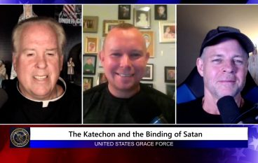Grace Force Podcast Episode 104 – The Katechon and the Binding of Satan