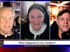 Grace Force Podcast Episode 102: Sr. Dede – What Happened to Our Freedom?
