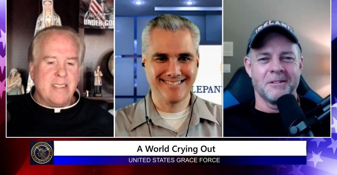 Grace Force Podcast Episode 110 – Michael Hichborn – A World is Crying Out!